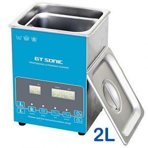 2L Industrital nettoyeur à ultrasons professionnel avec CE Panier garantie Motif cadeau de Noël