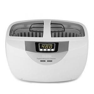 Nettoyeur à Ultrasons,Cadrim Appareil Nettoyage Ultrasons Machines de nettoyage à ultrasons pour Nettoyer Bijoux /CD/ Lunettes /Bracelet /Cosmétique /Outils de Laboratoire Instruments Accessoires et etc (2500ML)