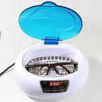 Expower Nettoyeur à Ultrasons Professionel 600ml Ultrasonic Cleaner 50W LCD Affichage Numérique pour Montre Lunettes CD Rasoir Bijoux Bracelet Lentille Outils Dentaire Laboratoire Clinique