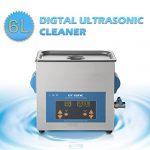 GT Nettoyeur à ultrasons/ à affichage numérique UE (6L, Digital Display)