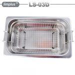 limplus Commercial professionnel nettoyeur à ultrasons 40KHz avec minuteur chauffage pour injecteur Filtre à huile automatique Réglage carburateur Pièces PCB