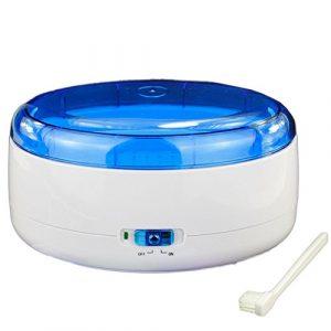 Wefun Appareil Nettoyeur à Ultrasons Appareil Nettoyage Ultrasons Machines pour Lunettes Bijoux Bracelet 600ml
