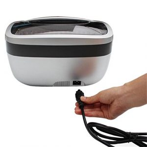ZWZT Nettoyeur à ultrasons Sonic nettoyants professionnels 2.5L bijoux 120W lunettes montre collier anneau machine de nettoyage à ultrasons pièces peigne rasoir dentier