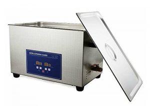 Gowe 480W 22L Digital nettoyeur à ultrasons avec panier de nettoyage