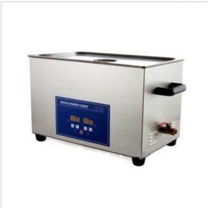 Gowe 22L en acier inoxydable Digital nettoyeur à ultrasons avec minuterie et chauffage (Y Compris un panier à linge)