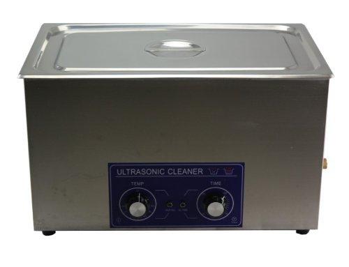 30L professionnel en acier inoxydable nettoyeur à ultrasons machine de nettoyage mécanique Heatingtiming réglable Digital Qualité commerciale