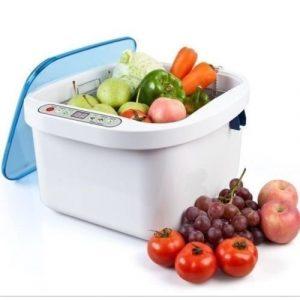 Gel New 12.8l Nettoyeur à Ultrasons d'ozone de fruits et légumes Stérilisateur Jewelry Rondelle pour dentier