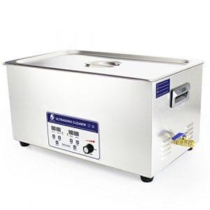 Cgoldenwall Jp-080s 22L à ultrasons machine de nettoyage pour dentier Medical nettoyeur à ultrasons appareil de nettoyage à ultrasons Vaisselle de pièces en métal