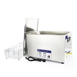 Cgoldenwall Jp-100s 30L à ultrasons machine de nettoyage pour dentier Bracelet nettoyeur à ultrasons appareil de nettoyage à ultrasons Vaisselle de pièces en métal