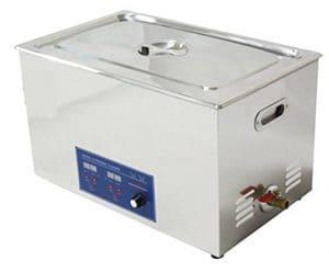 Cgoldenwall Ps-100al 30L Digital nettoyeur à ultrasons Ultrasonic mémoire flash PC board de machine à nettoyage ultrasonique Rondelle (Puissance réglable)